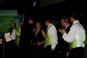 head coll reception line